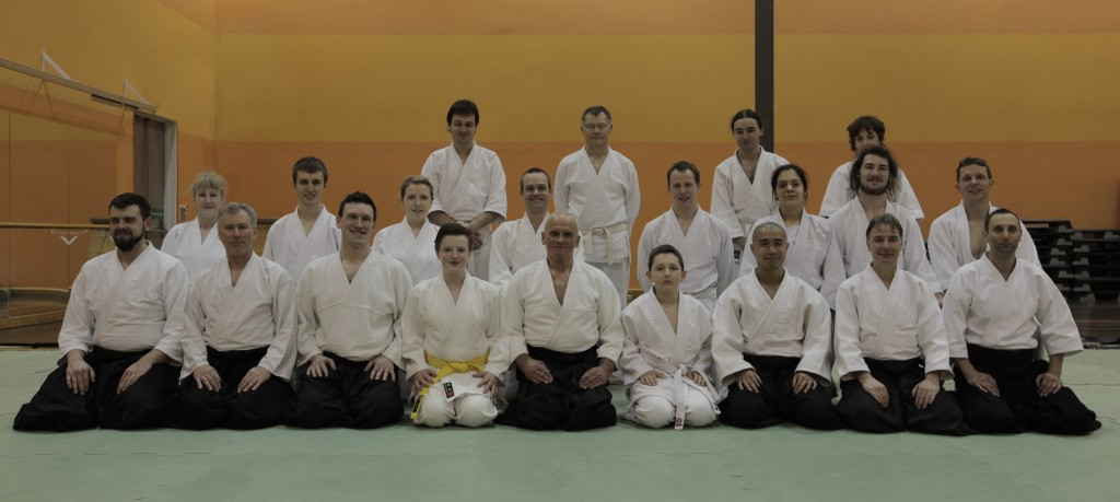 Attendees at a course with Terry Ezra Shihan.